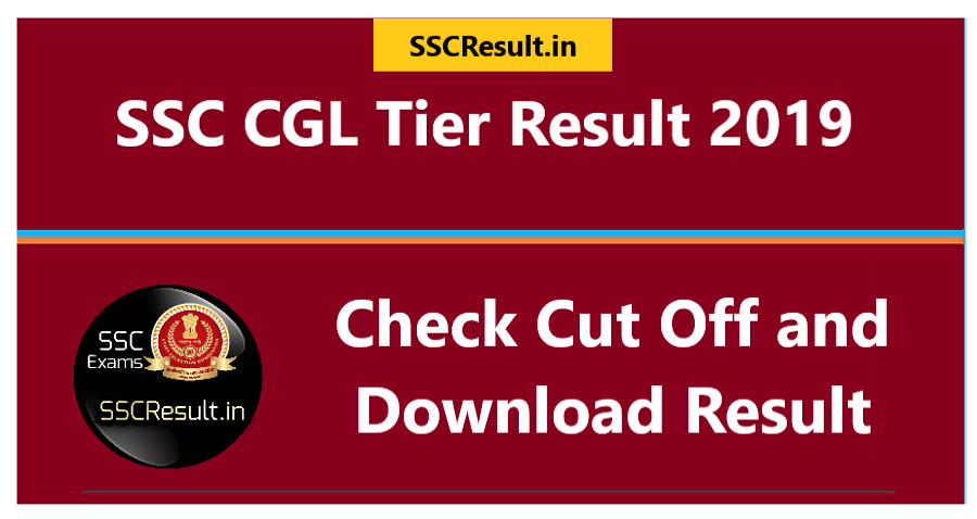SSC CGL Tier 1 Result 2019 Download PDF
