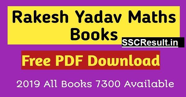 Rakesh Yadav 7300+ Maths Book PDF in Hindi