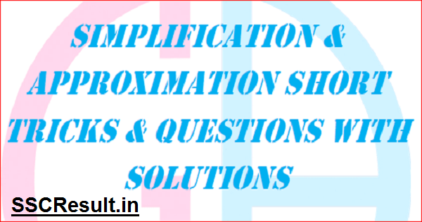 Simplification Questions and Answers PDF for Bank Exams
