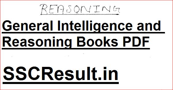 General Intelligence and Reasoning Books PDF