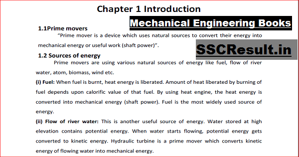 Diploma in Mechanical Engineering Books Free Download