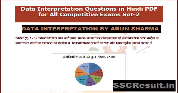 Data Interpretation by Arun Sharma PDF Download