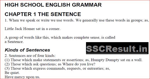English Grammar Rules PDF Download in Hindi