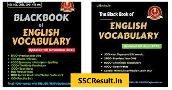Black book of english vocabulary pdf