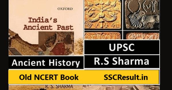 Rs sharma ancient history pdf India's ancient past book