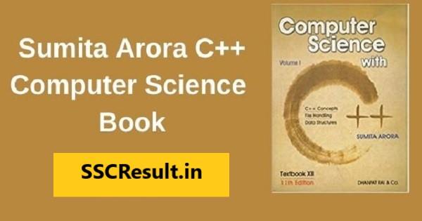 Sumita arora c++ class 12 book pdf download