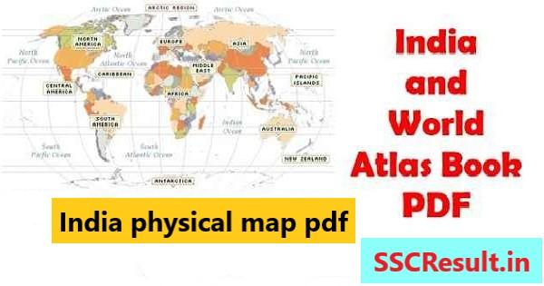 Atlas India map pdf
