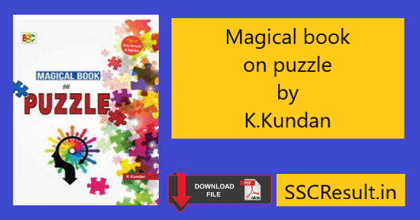 Magical book on puzzle pdf