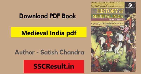 Medieval India pdf