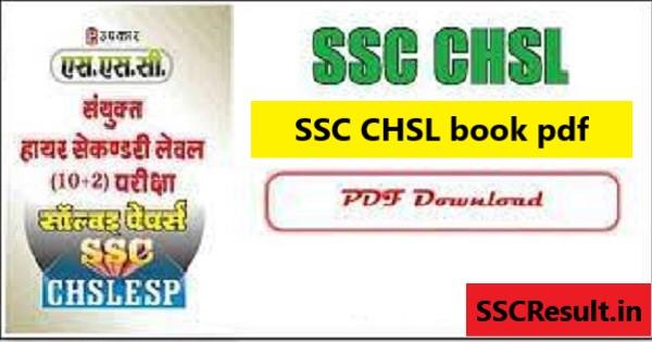 SSC CHSL book pdf