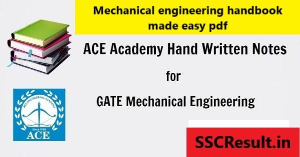 Mechanical engineering handbook made easy pdf