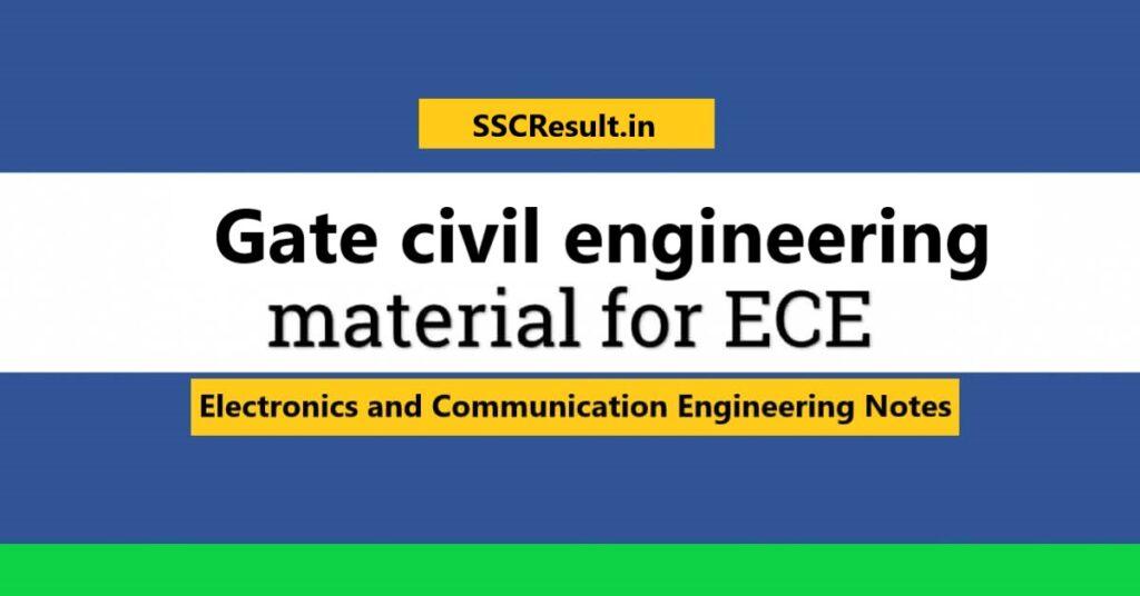 Gate civil engineering books pdf free download